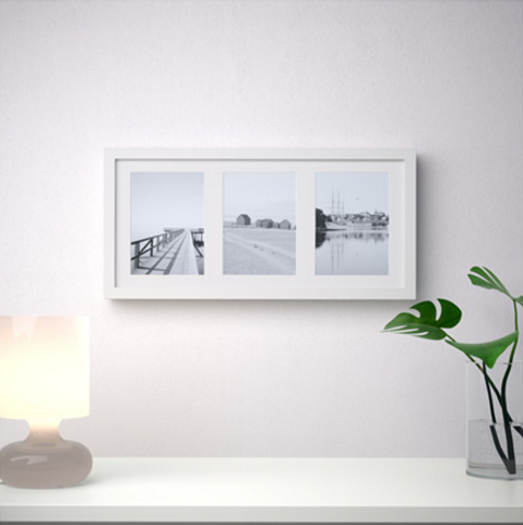 Ikea poster wall frame